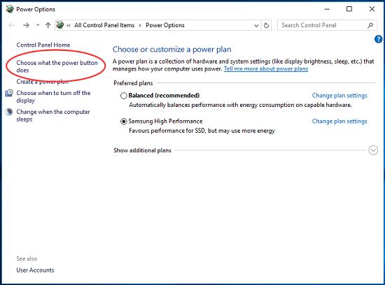máy tính tự bật lại sau khi tắt nguồn