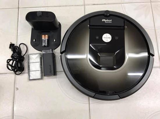 cách sử dụng Robot Hút Bụi IRobot Roomba 980