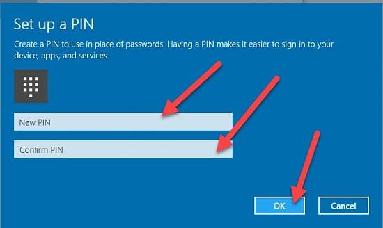 xóa mật khẩu win 10