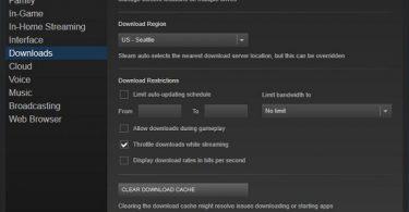 cách tăng tốc độ download game trên steam win 7