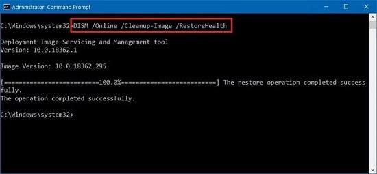 dism command trên windows 10