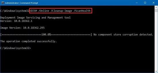 hướng dẫn sử dụng dism command windows 10