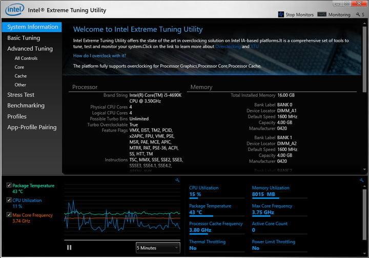 phần mềm đo nhiệt độ cpu speedfan