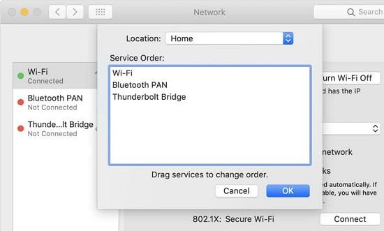 macbook bắt wifi yếu