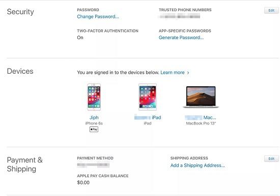 xóa tài khoản id apple trên iphone