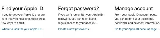 cách xóa tài khoản id apple khi quên mật khẩu