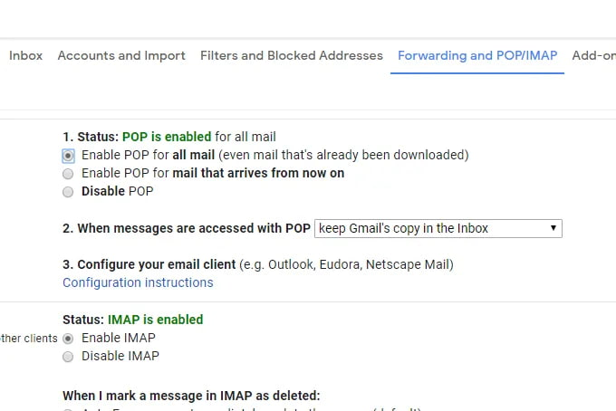 chuyển email cũ sang gmail mới
