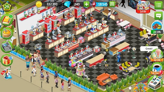 My Cafe — Restaurant game Online cho android