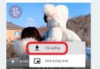 cách video facebook về máy tính