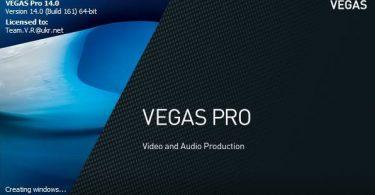 Sony Vegas Pro 14 Full + Key