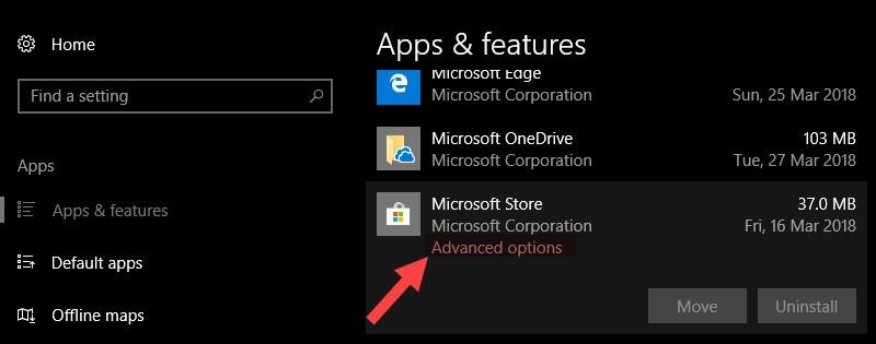 Hướng dẫn cài lại Windows Store cho Windows 10
