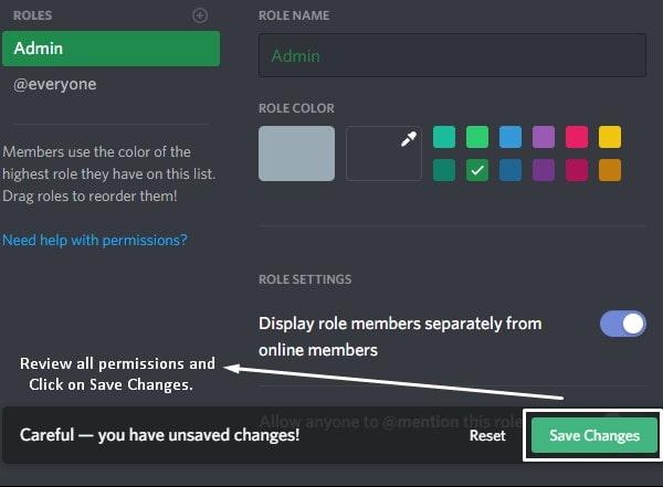 cách tạo bot trong discord