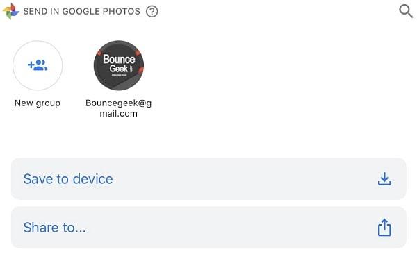 đồng bộ ảnh từ iphone lên google photo