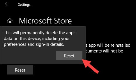 Khôi phục Windows Store bằng Powershell