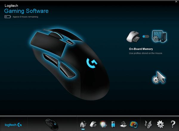 cách dùng Logitech Gaming Software & G Hub