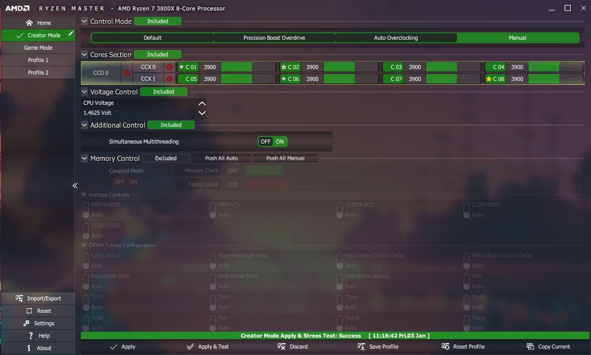 Hướng dẫn tinh chỉnh và ép xung bộ nhớ RAM trên Ryzen