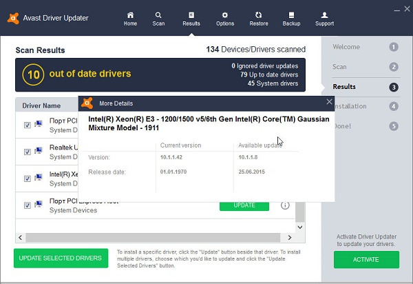 Avast Driver Updater Key Registration Code 2020