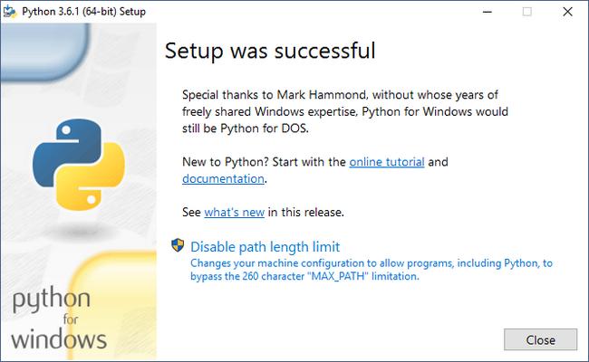 Cách cài đặt Python trên Windows 10 13