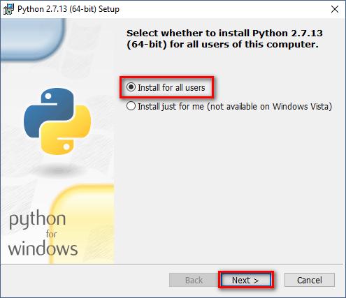 Cách cài đặt Python trên Windows 10 9