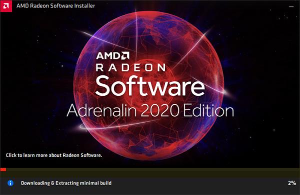 cập nhật Trình điều khiển AMD