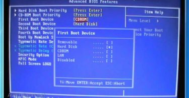 lỗi disk boot