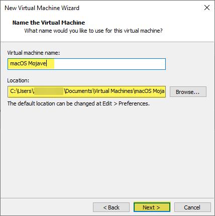 VMware macOS Unlocker