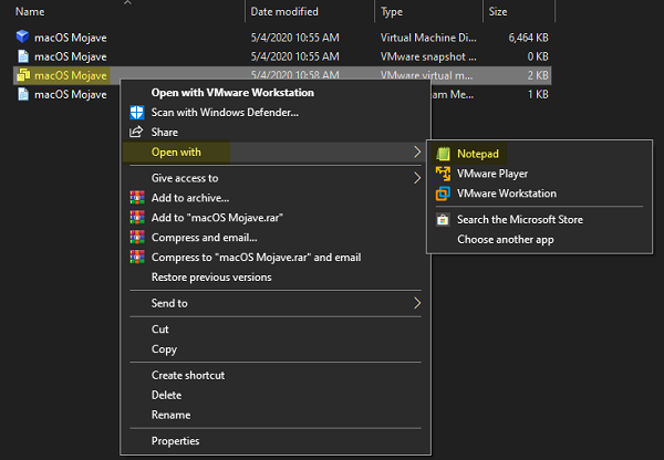 Cách cài đặt macOS Mojave 10.14 trên VMware cho Windows PC 1