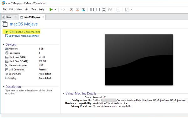 Cách cài đặt macOS Mojave 10.14 trên VMware cho Windows PC 3