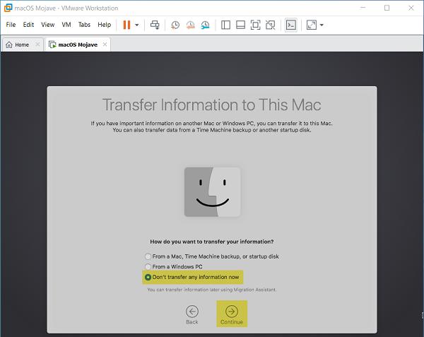 Cách cài đặt macOS Mojave 10.14 trên VMware cho Windows PC 5