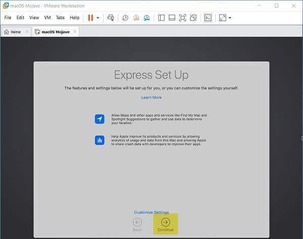 Cách cài đặt macOS Mojave 10.14 trên VMware cho Windows PC 8