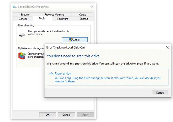 Sửa lỗi Disk Boot Failure trên Windows 10 4