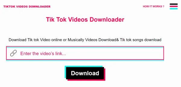 download video tiktok nhanh