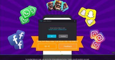 nox app player cho pc